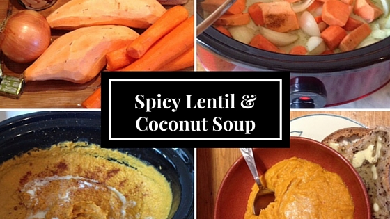 Spicy Lentil &Coconut Soup